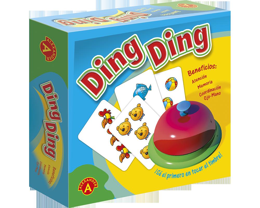 Juego De Mesa Alexander Ding Ding